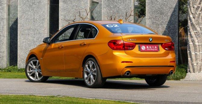 В Китае начались продажи седана BMW 1-Series (2).jpg