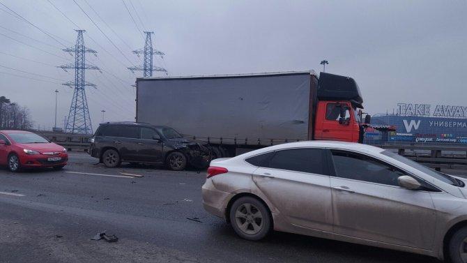 Массовое ДТП произошло на Киевском шоссе в Москве (3).jpg
