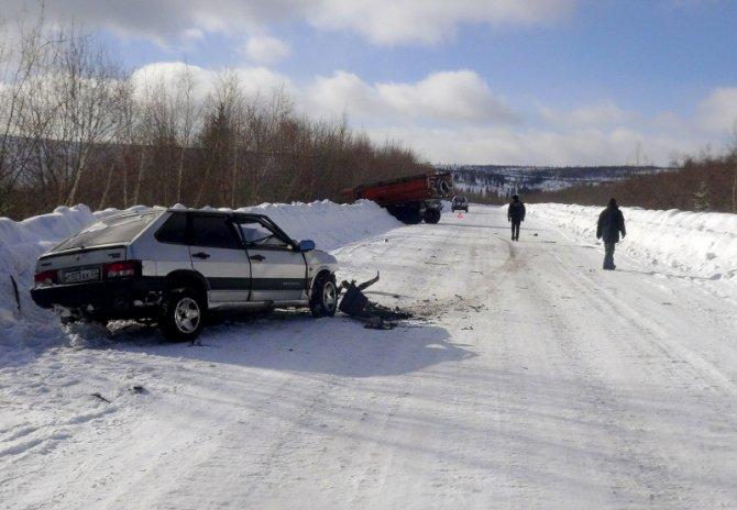 В ДТП с КАМАЗом в Бодайбинском районе погиб человек (2).jpg