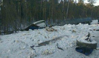 В ДТП под Сургутом погибли три человека