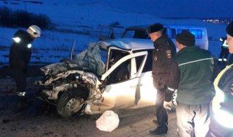 В ДТП в Альметьевском районе Татарстана погиб человек