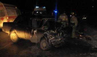 В ДТП в Ишимском районе погибли оба водителя