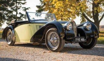 Уникальный Bugatti Type 57S 1937 года был продан по рекордной цене