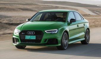 Новый «заряженный» Audi RS3 Sedan показался на фото
