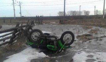 Мотоциклист погиб в ДТП в Нижнеудинском районе