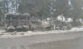 В ДТП в Ленобласти погибли водители грузовиков