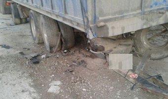 В Новороссийске у грузовика оторвавшееся колесо сбило пешехода