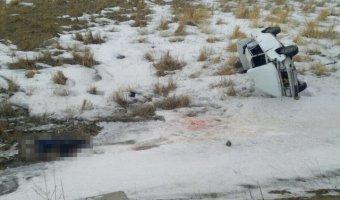 В Башкирии опрокинулась «семерка»: водитель погиб