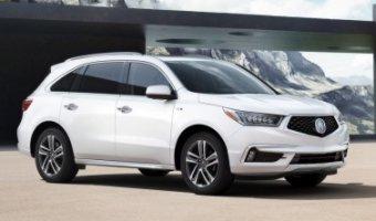 Acura представила свой первый гибридный кроссовер MDX Sport Hybrid