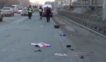 В Новосибирске умерла женщина, потерявшая ногу в утреннем ДТП