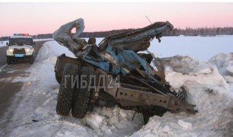 В Красноярском крае в ДТП в КАМАЗом погиб человек