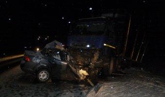 В ДТП с лесовозом на трассе «Вятка» погиб человек