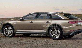 В Сети появился рендер Audi A6 Allroad 2019