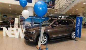 Презентация Volkswagen Tiguan в «Фольксваген Центре АВТОРУСЬ»