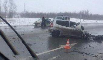В ДТП с КамАЗом на трассе Нефтеюганск – Сургут погиб человек