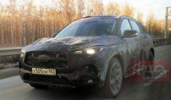 В России тестируют Infiniti QX50 нового поколения