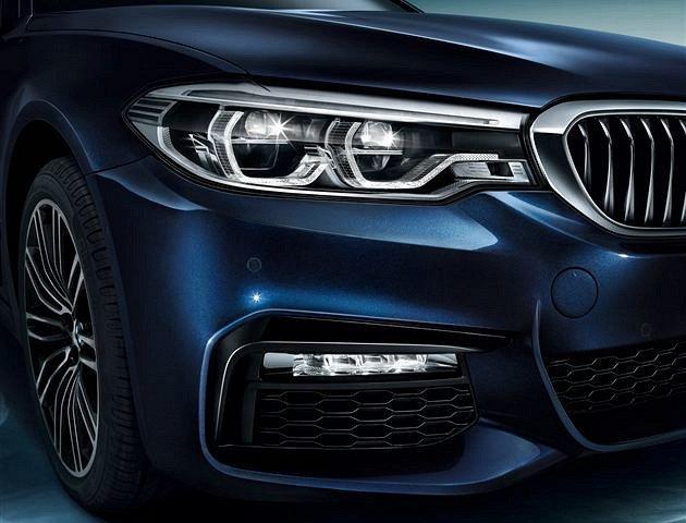 В Сети появились официальные фотографии удлиненного седана BMW 5-Series Li (4).jpg