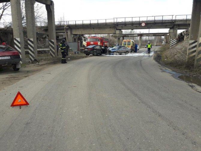 В лобовом ДТП в Рязани пострадали шесть человек (2).jpg