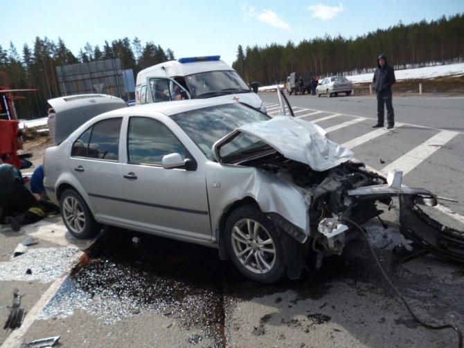 В ДТП в Питкярантском районе пострадали четыре человека (1).jpg