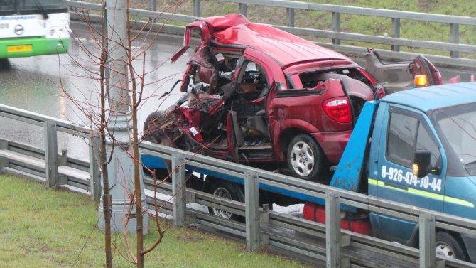 В ДТП с грузовиками на МКАД погиб человек (3).jpg