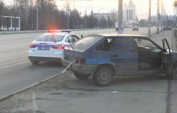 В Казани пьяный водитель «Лады» без документов устроил гонки с полицией