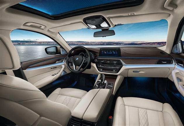В Сети появились официальные фотографии удлиненного седана BMW 5-Series Li (3).jpg