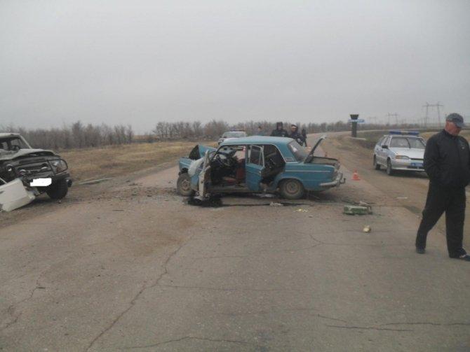 В ДТП в Новоорском районе погибла два пассажира ВАЗа.jpg