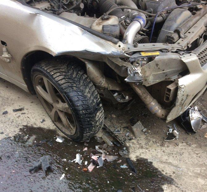 16 апреля, в Челябинске пьяный лихач разбил 11 машин