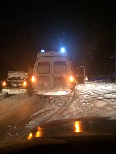 15 апреля, по дороге в Токсово погиб водитель Nissan
