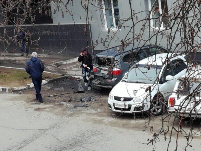 В Саратове женщина за рулем Lexus перепутала педали и устроила ДТП (1).jpg
