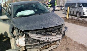 В ДТП в Нижневартовске пострадали трое детей