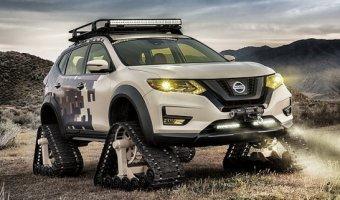 Гусеничный кроссовер от Nissan можно будет увидеть на автосалоне в Нью-Йорке