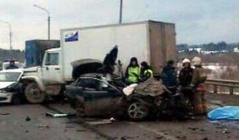 В массовом ДТП в Добрянском районе погибли два человека