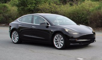 В Сети рассекретили внешность электрокара Tesla Model 3