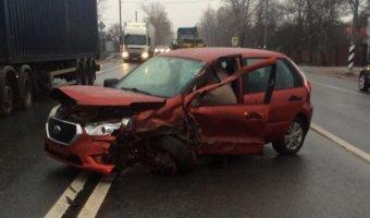 В ДТП под Тверью погиб водитель Datsun