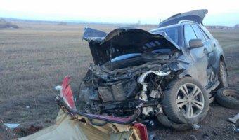 В Башкирии на трассе Стерлитамак – Салават в ДТП погибли два человека