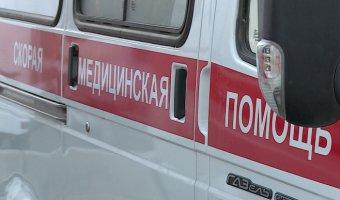 В Туле иномарка врезалась в столб: водитель погиб