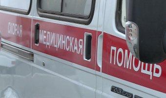 В Уфе иномарка протаранила автобус: есть пострадавшие