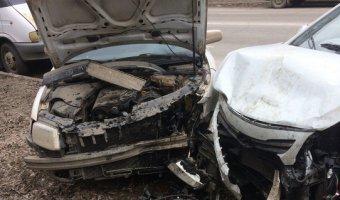 В Челябинске пьяный лихач разбил 11 машин