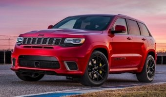 На автовыставке в Нью-Йорке представят Jeep Grand Cherokee Trackhawk 2018
