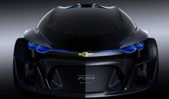 Chevrolet опубликовали тизер концепта FNR-X