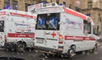 В Петербурге в ДТП попала «скорая помощь»