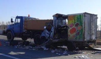 В Свердловской области молодой водитель грузовика уснул за рулем и погиб в ДТП