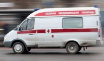 Под Воронежем машину после ДТП отбросило на пешехода