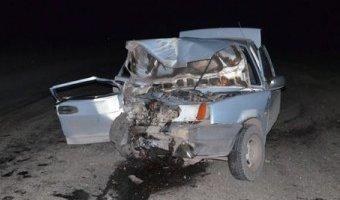 В Покровском районе в ДТП с двумя ВАЗами погибли мужчина и женщина