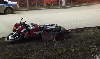 В Татарстане насмерть разбился молодой мотоциклист