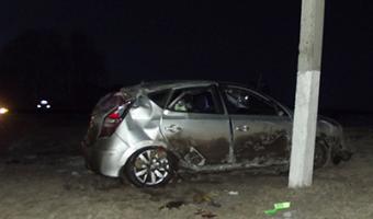 В Бугульме «Хендай Солярис» уходил от погони ДПС и перевернулся - один погибший