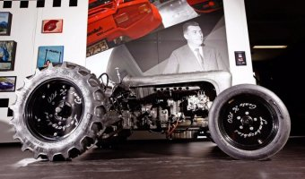 Lamborghini соберет пять тракторов за 250 тысяч евро