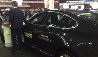 Скромное обаяние капитализма - представительский седан Volvo S90 на выставке