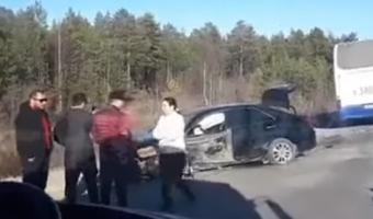 В ДТП под Сургутом погибли два человека из «Лады»